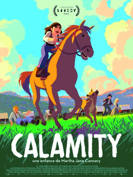 Affiche du film Calamity, une enfance de M. J. Cannary