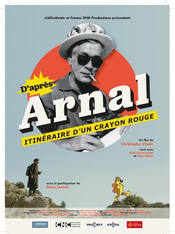 Affiche du film D'après Arnal, itinéraire d'un crayon rouge