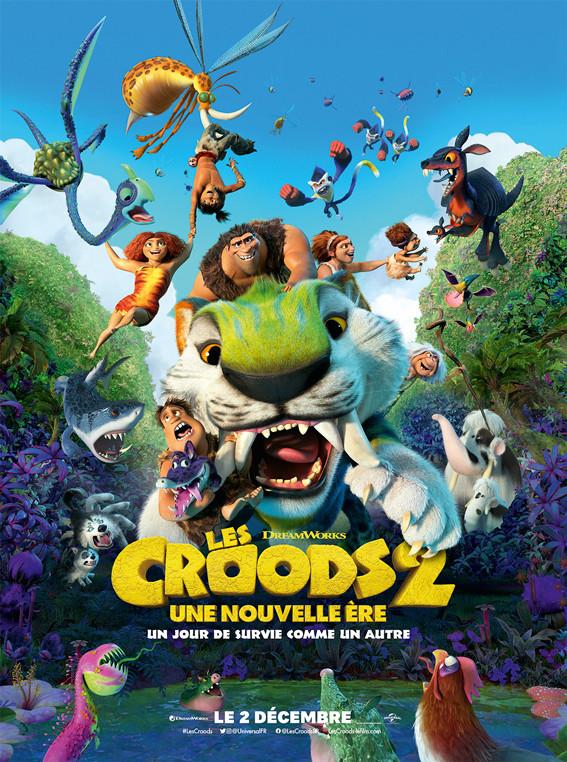 Affiche du film Les croods 2